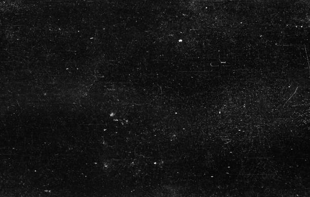 Old Scratched Film Strip Grunge Texture Background A close-up scan of an old scratched 35mm film strip grunge texture background. full frame stock pictures, royalty-free photos & images