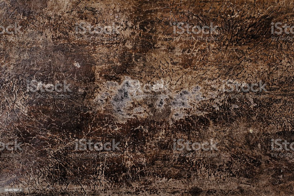 Old scratched leather texture royalty-free stock photo