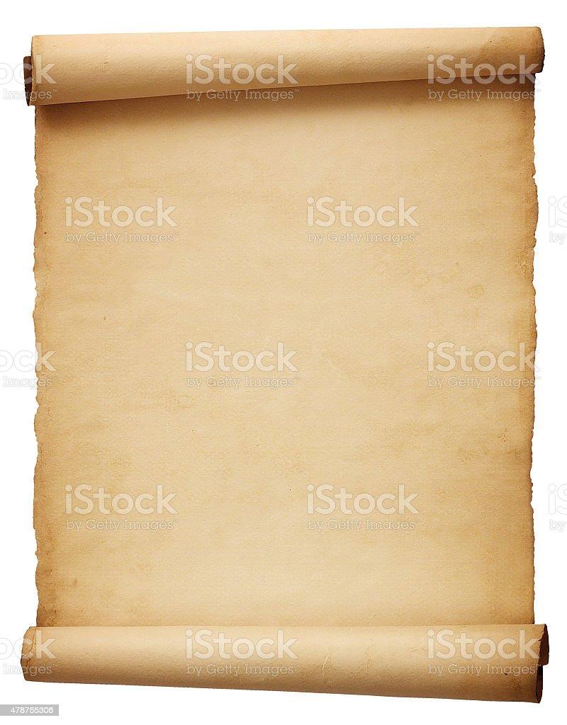 Alte Papier-Blättern – Foto