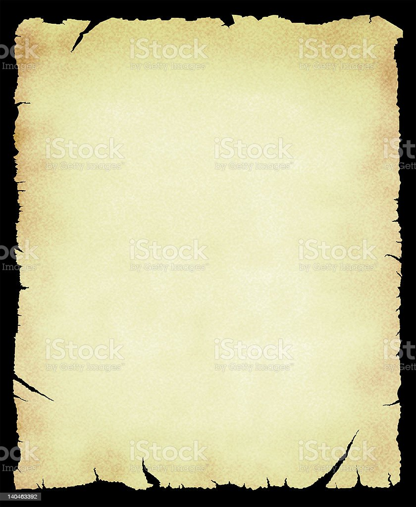 old scroll royalty-free stock photo