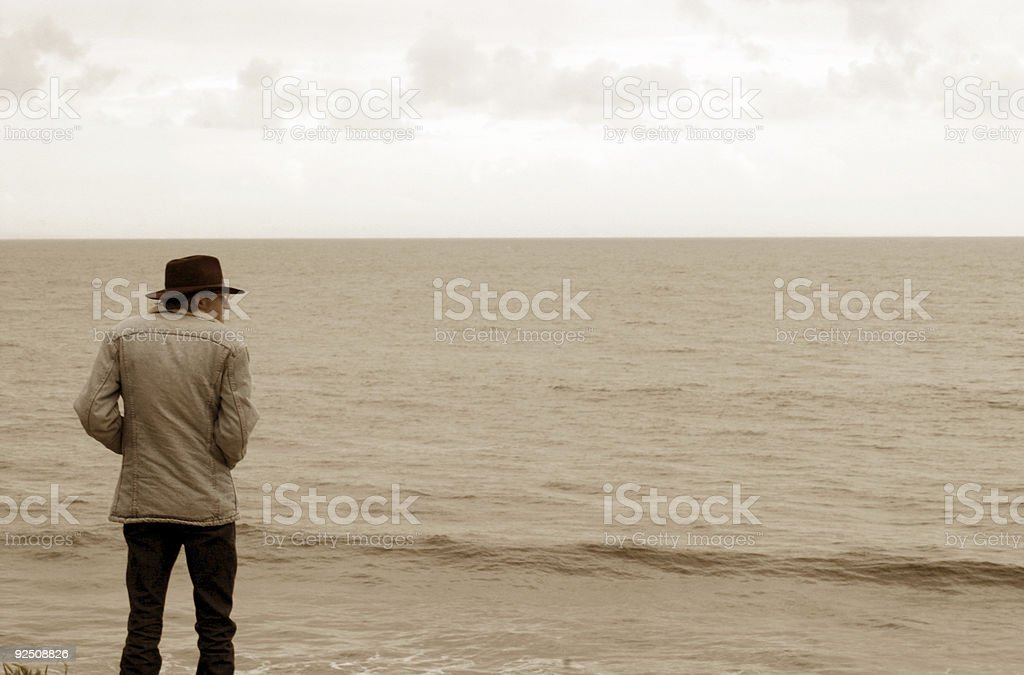 old sea royalty-free stock photo
