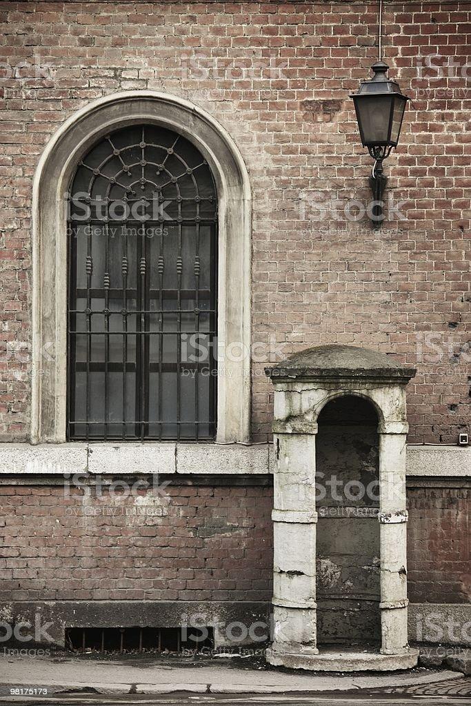 Old sentry box royalty-free stock photo