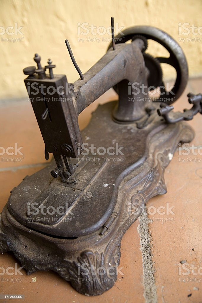 old sewing royalty-free stock photo