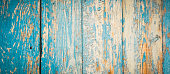 Old shabby painted boards. background