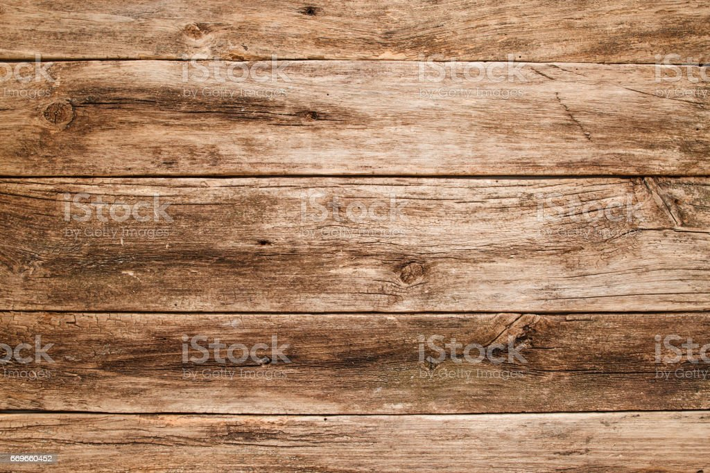 Old shabby wooden background close-up