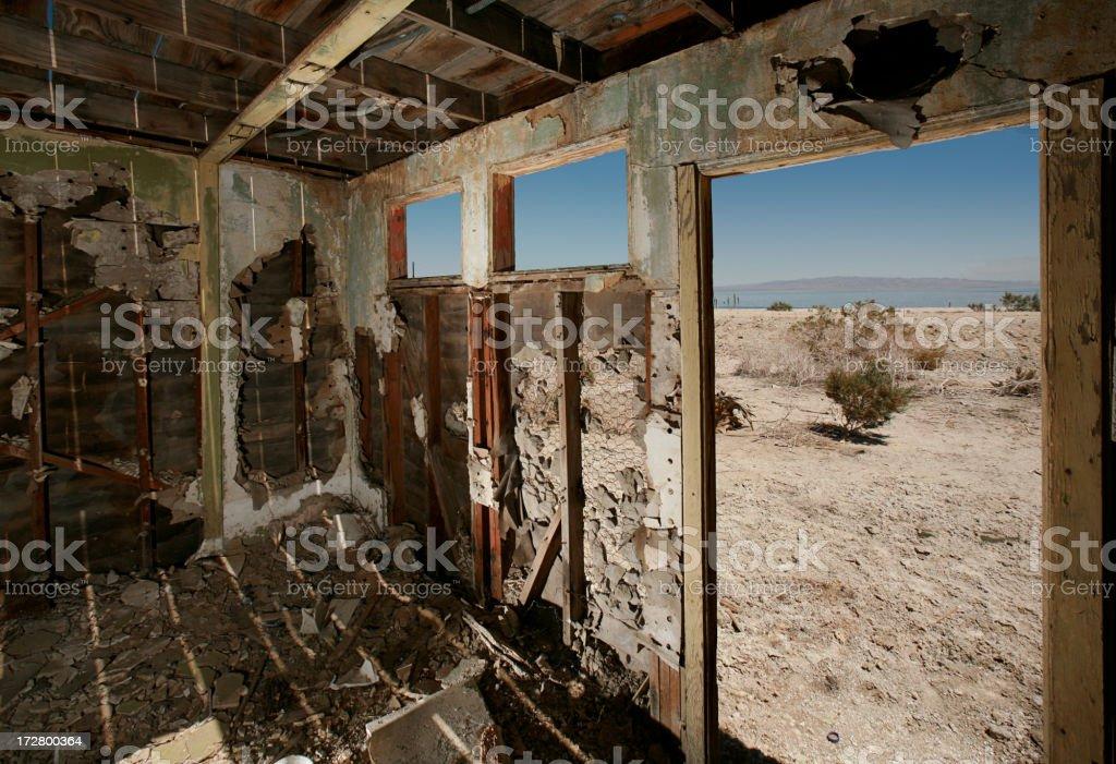 Alte shack innen – Foto