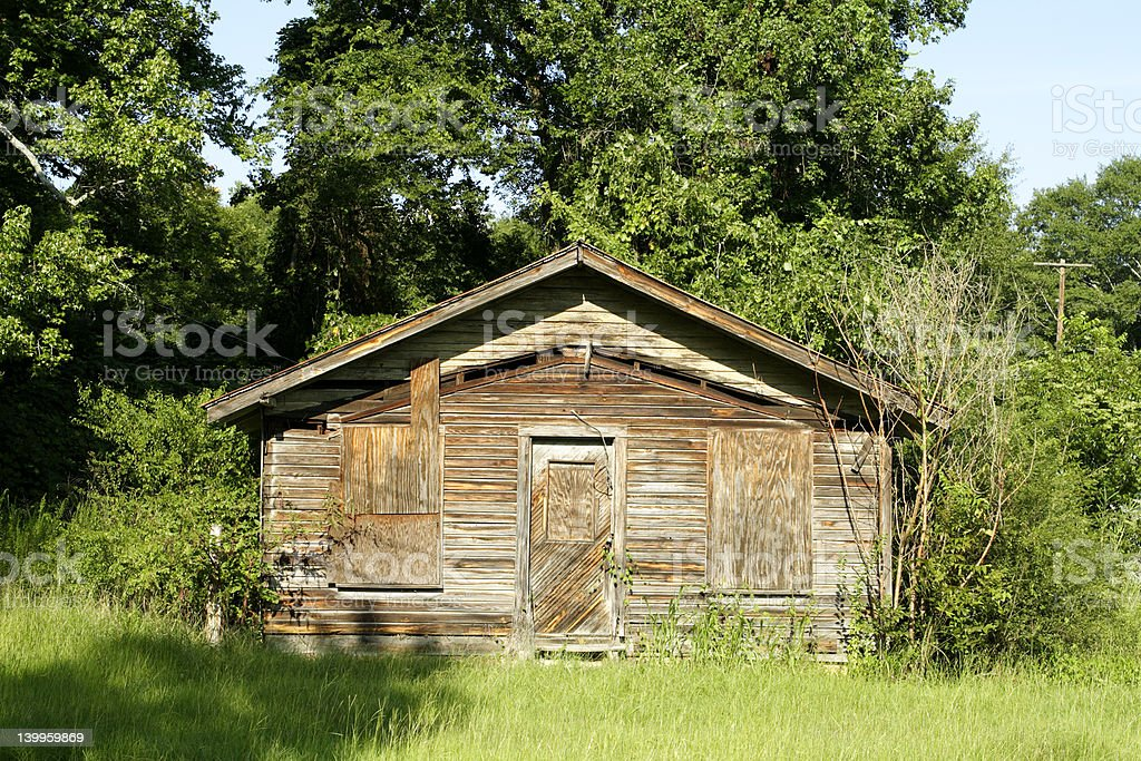 Old Shack royalty-free stock photo