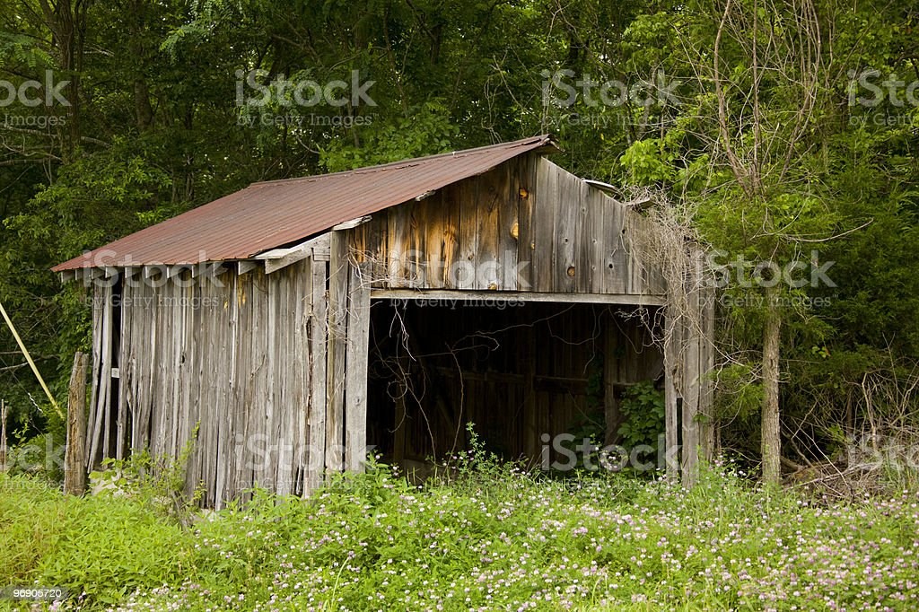 old shed royalty-free stock photo
