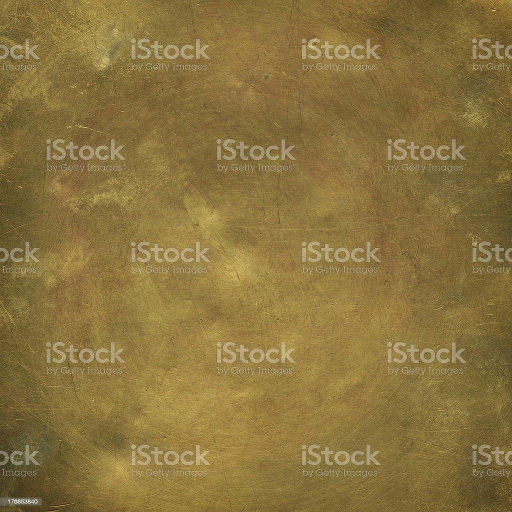 Old sheet bronze stock photo