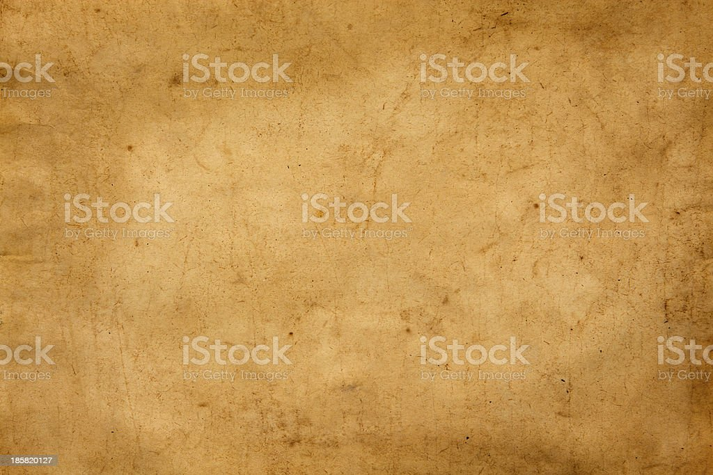 Old sheet of paper stock photo