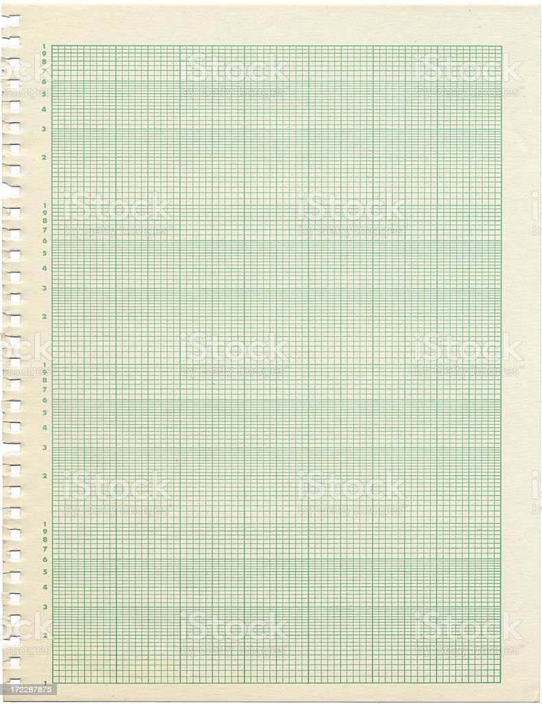 Old Sheet Of Semilog Graph Paper Stock Photo & More Pictures of ...