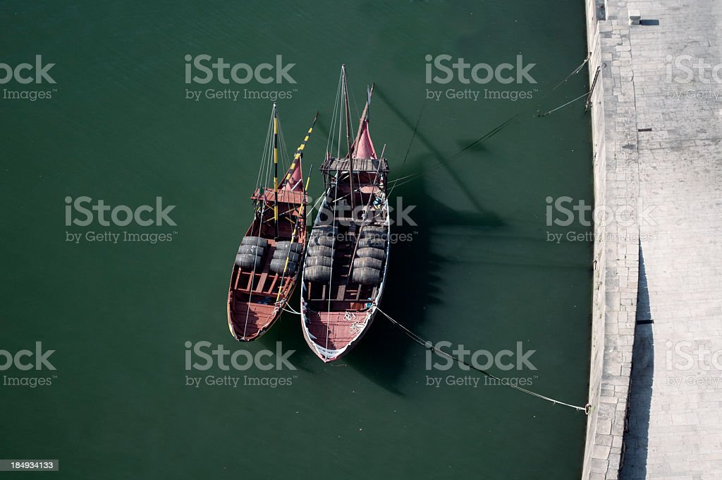 Old ships royalty-free stock photo