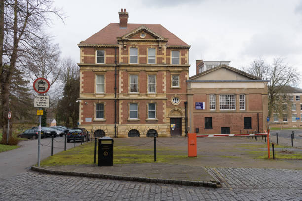 Old Shire Hall and Magistrates' Court stock photo