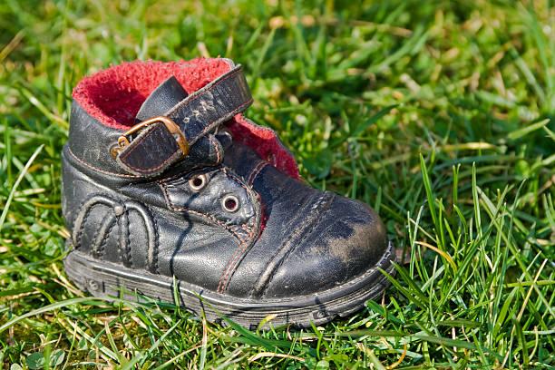 Vecchie scarpe - foto stock