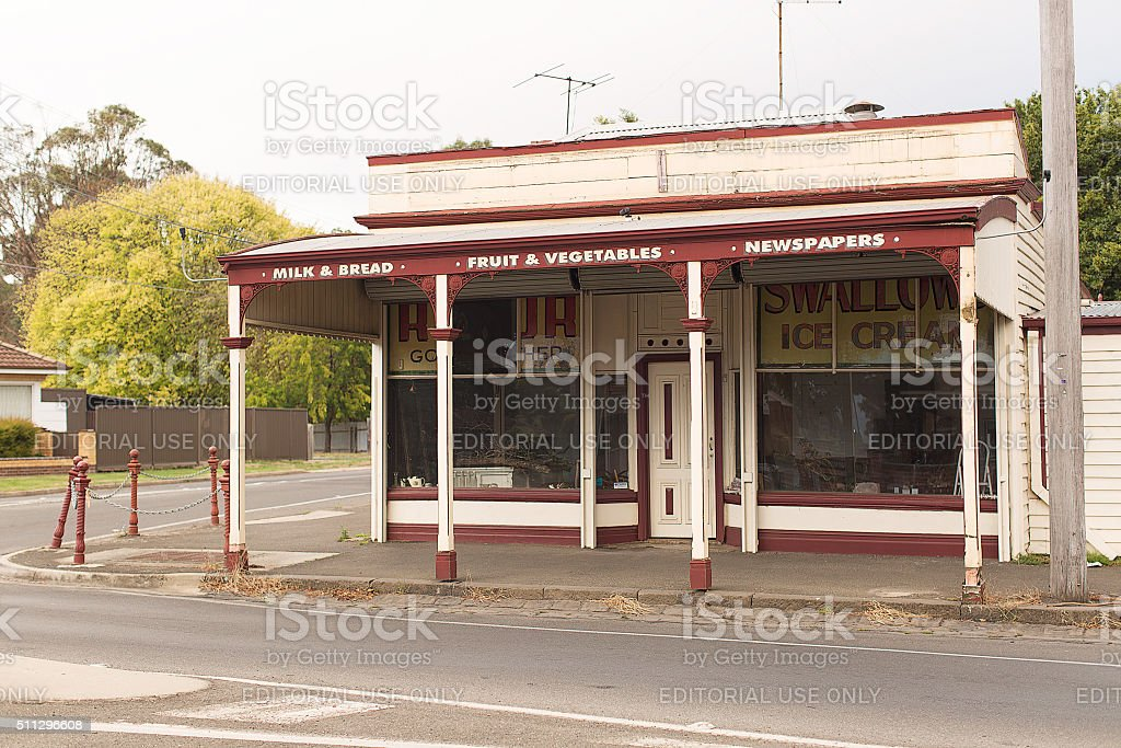Old Shop stock photo