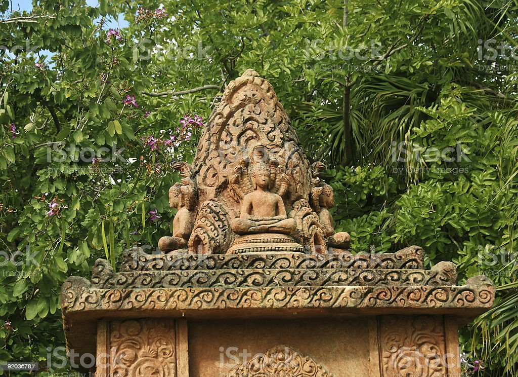 Old shrine royalty-free stock photo