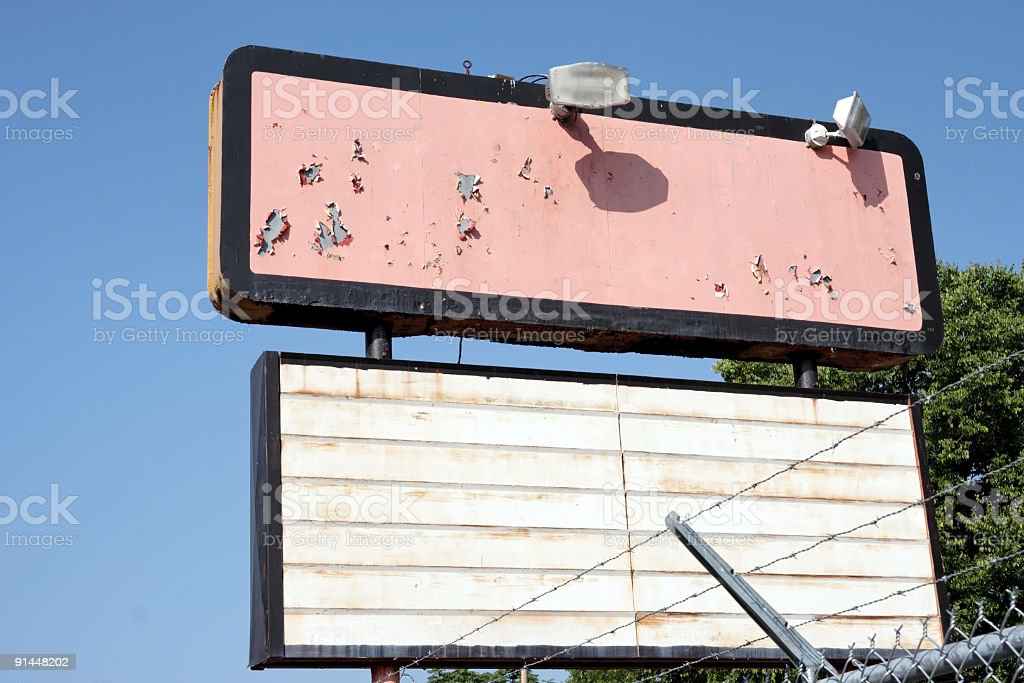 Old Sign royalty-free stock photo