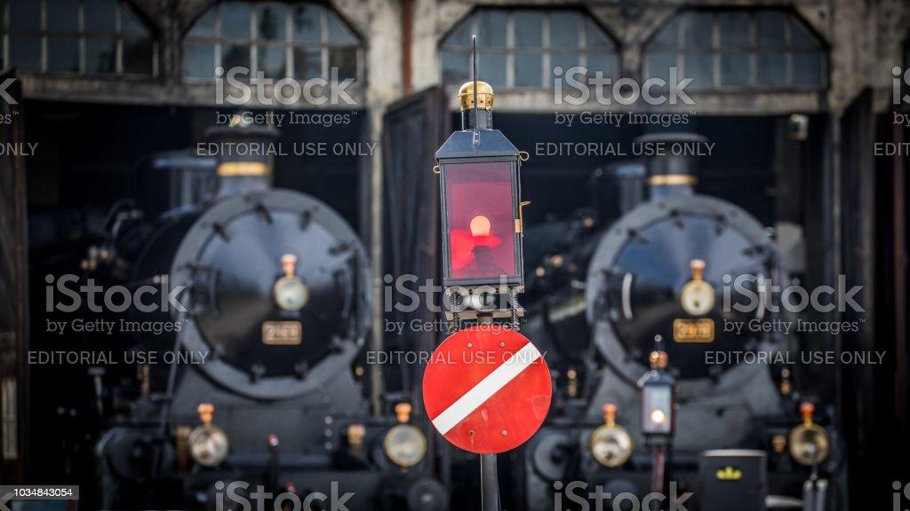 Altes Signal von den Schweizerischen Bundesbahnen (SBB/CFF/FFS) – Foto
