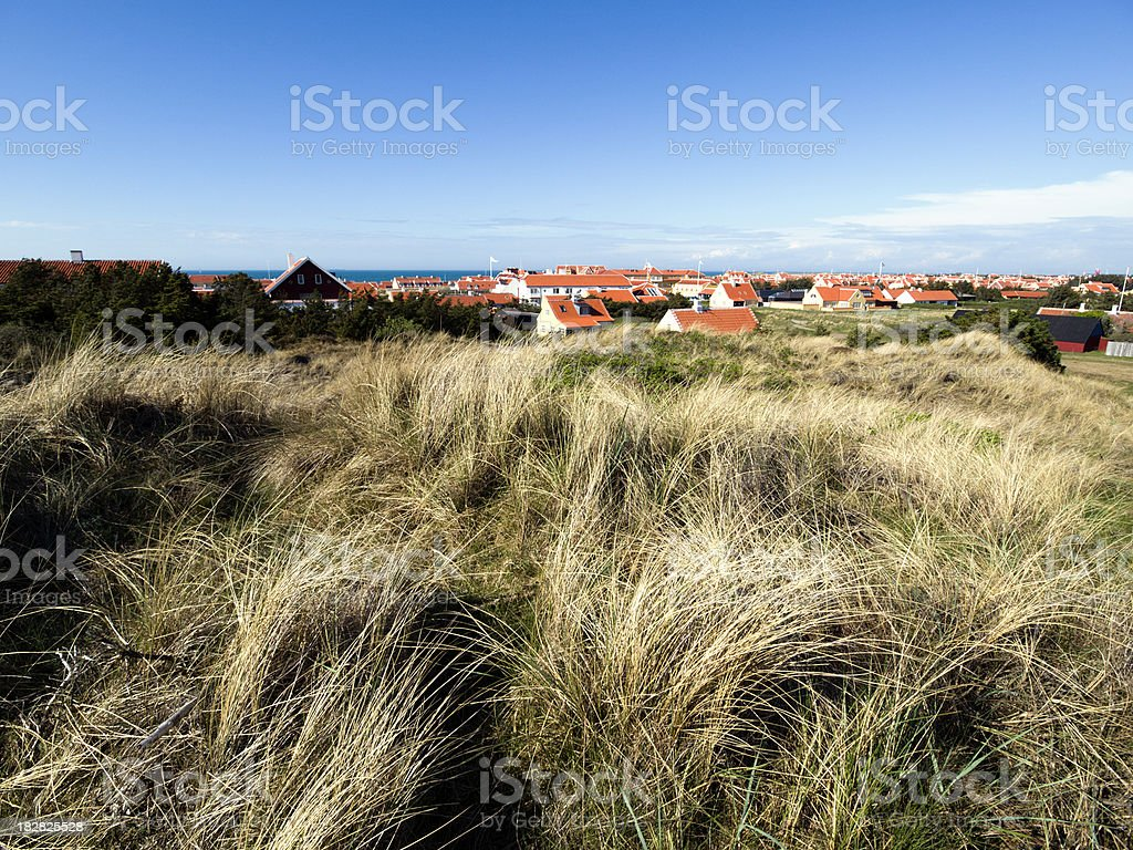 Old Skagen royalty-free stock photo