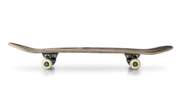 old skateboard - skateboard stock pictures, royalty-free photos & images