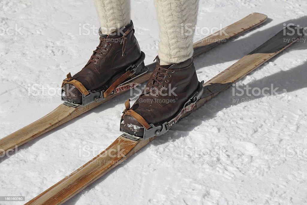 Old skier – Foto