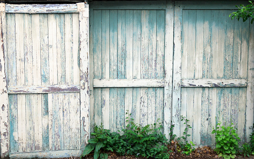 Old Sliding Barn Doors