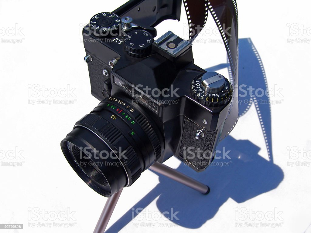 old slr royalty-free stock photo