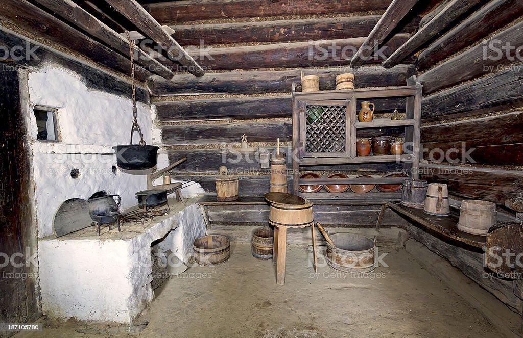 Alte Kleine Bauernhaus Küche Stock-Fotografie und mehr Bilder von ...