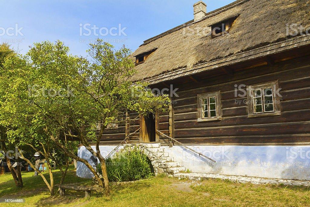 Old Small Farmhouse Royalty Free Stock Photo