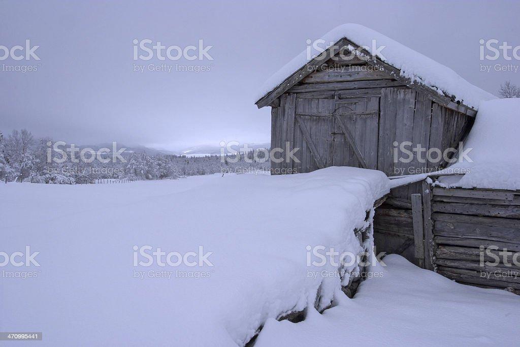 Old Schnee barn – Foto