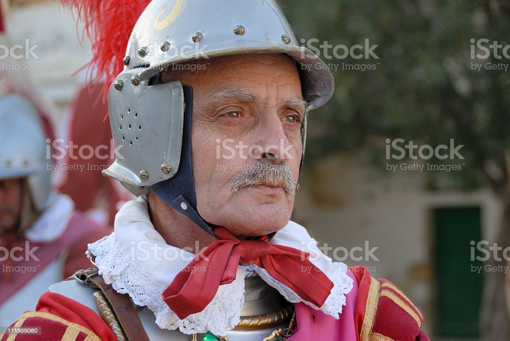 old soldier royalty-free stock photo
