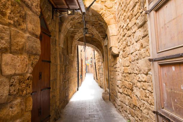 Alte Souks. Das historische Zentrum von Sidon. Sidon, Libanon – Foto