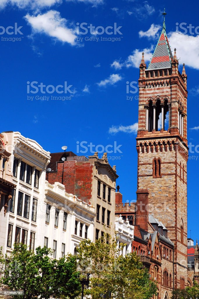 Old South Church, Boston stock photo
