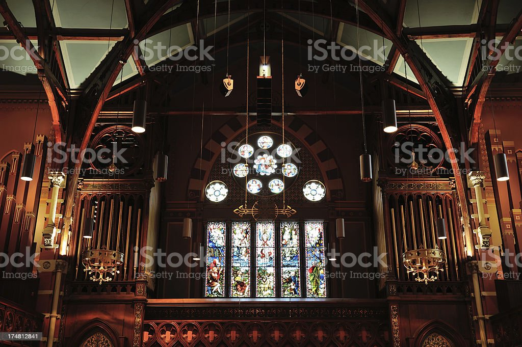Old South Church in Boston royalty-free stock photo