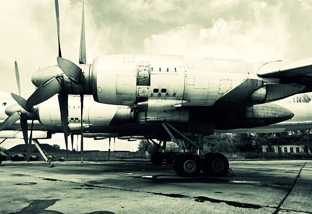 Alten Sowjetunion Flugzeug – Foto