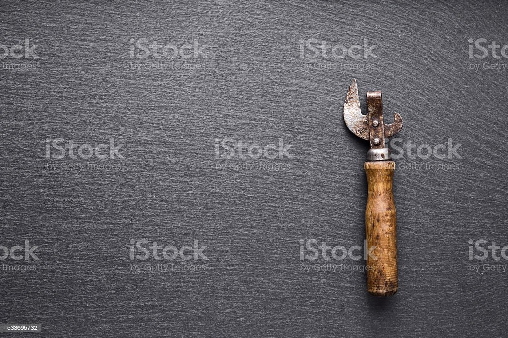 old soviet bottles opener stock photo