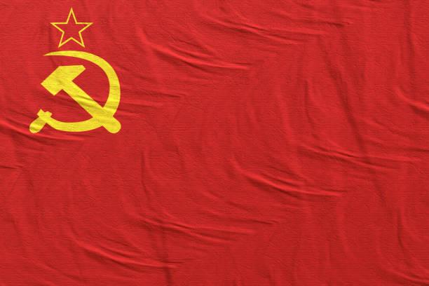 旧ソ連の旗 - 共産主義 ストックフォトと画像