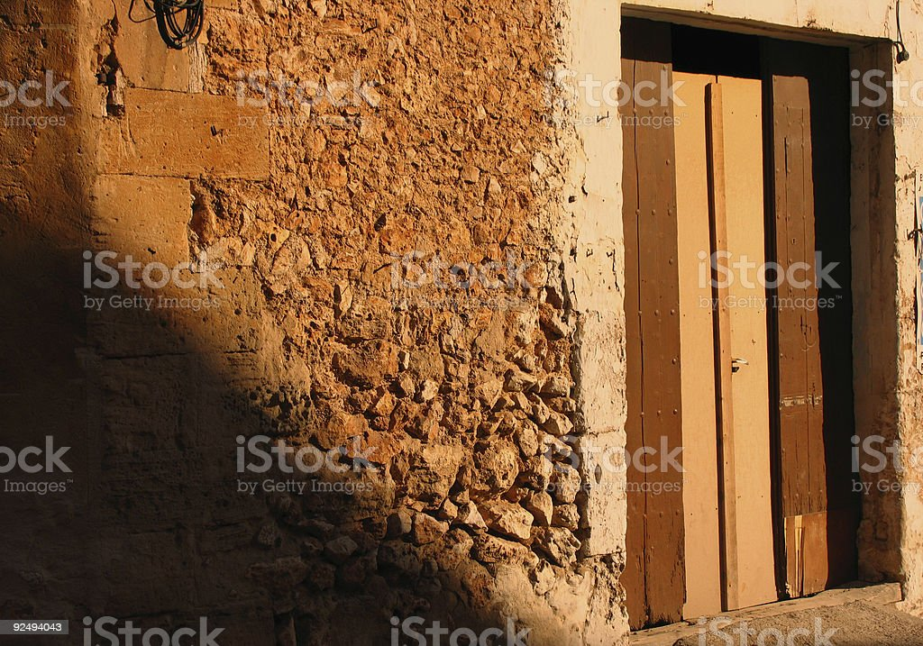 Old spanish house royalty-free stock photo