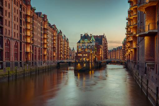 Old Speicherstadt in Hamburg