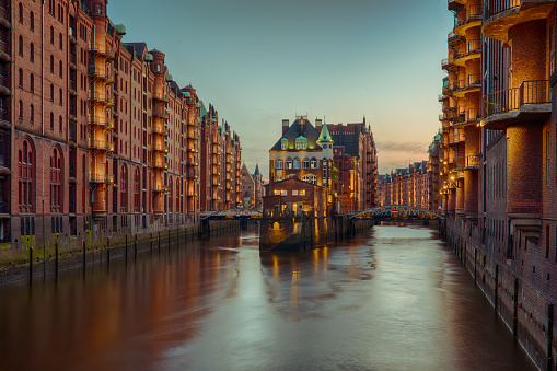 Old Speicherstadt in Hamburg