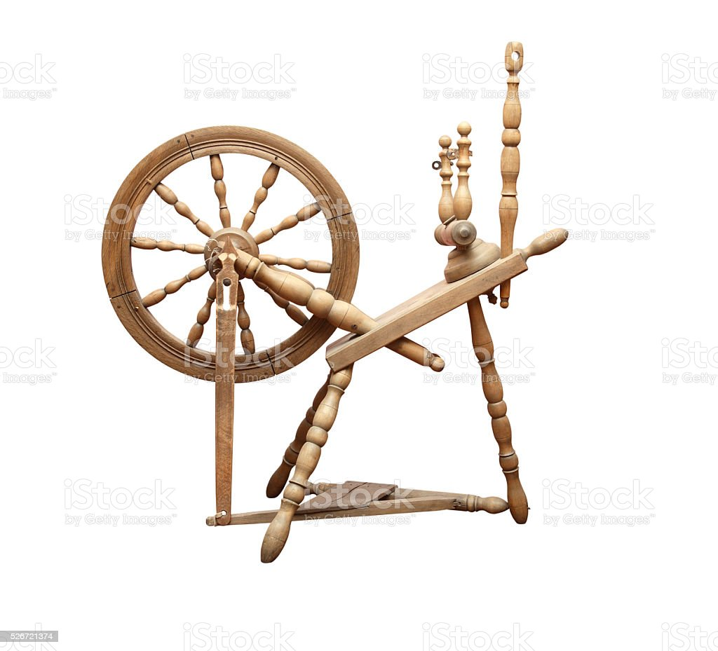 Old Spinning Wheel Stock Photo Download Image Now Istock