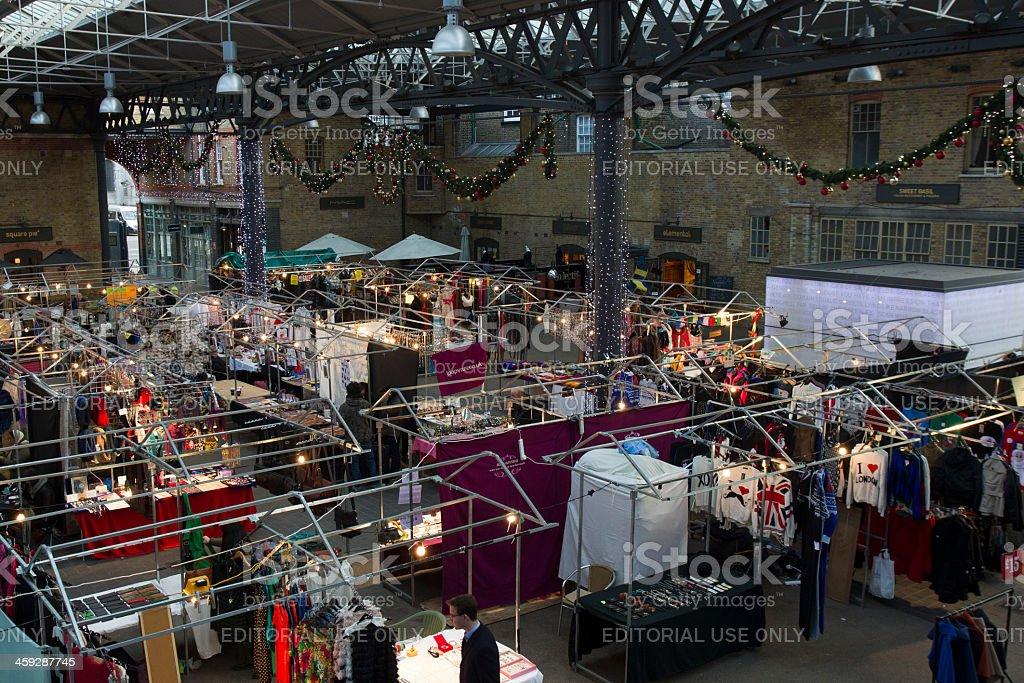 Old Spitalfields Market, London stock photo
