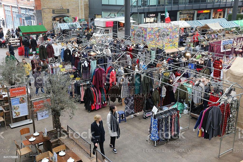 Old Spitalfields Market stock photo