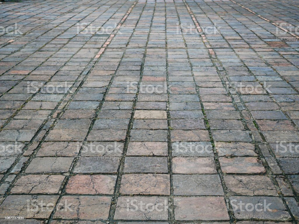 Old Brick, Built Structure, Cube Shape, Flooring, Material