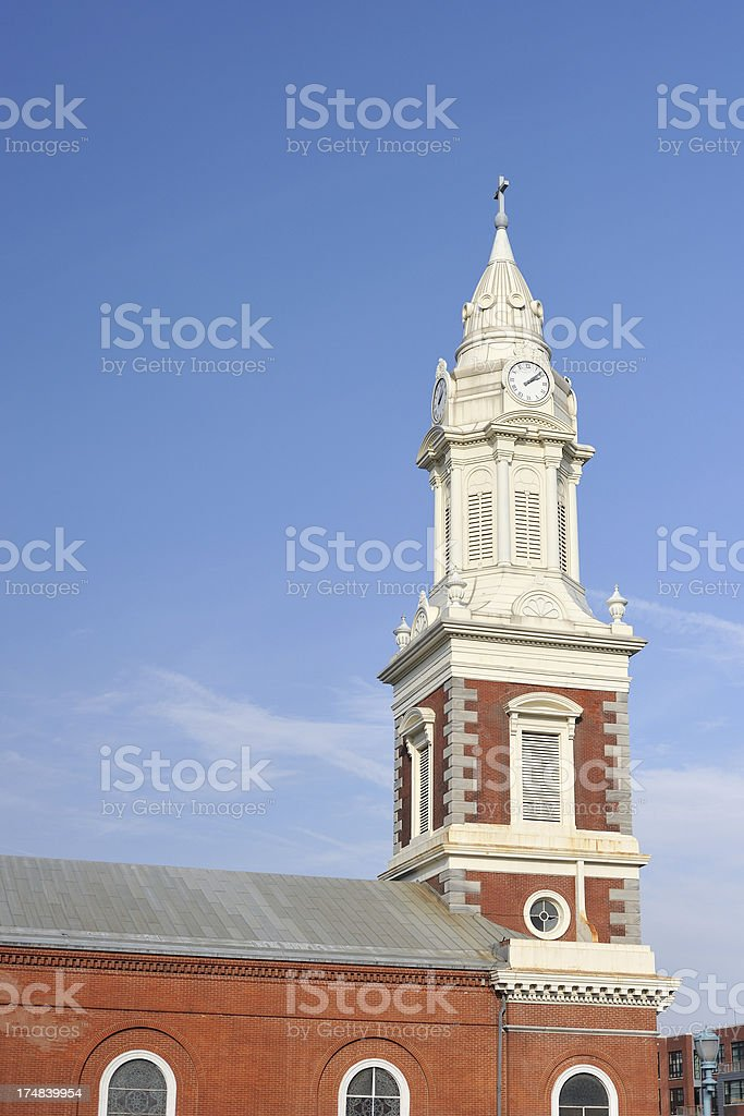 Old St. George Church in Philadelphia royalty-free stock photo