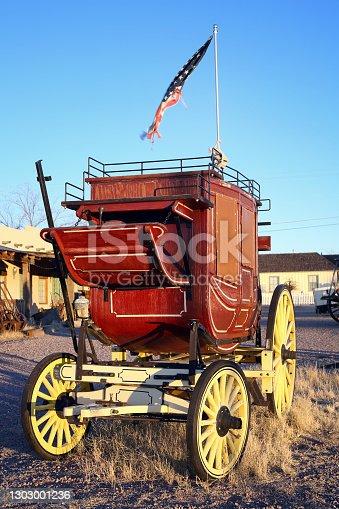 Old Stagecoach, Tombstone, Arizona, USA