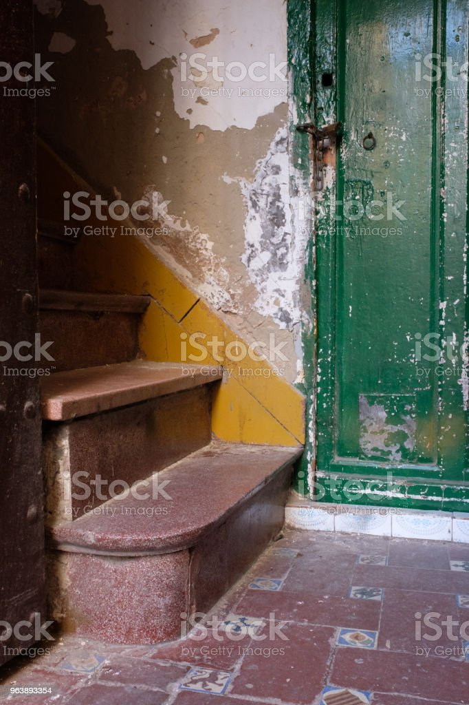 Altes Treppenhaus in Sevilla, Spanien (Andalusien) - Royalty-free Andalusia Stock Photo