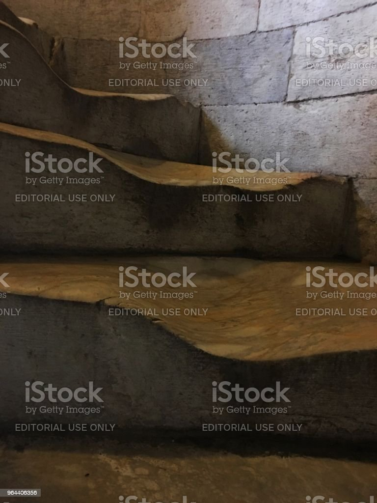 Old stairs of the famous tower - Royalty-free Architecture Stock Photo