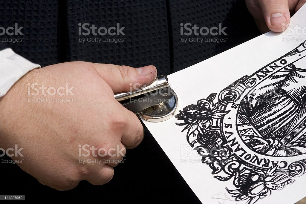 Old Stamp royalty-free stock photo