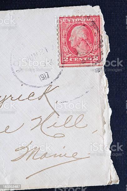 Old Stamped Envelope